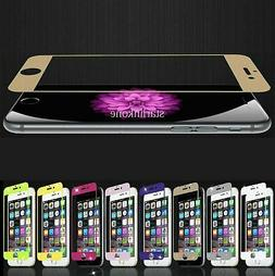 Tempered Glass Color Screen Protector for iPhone 6 / 6S / 6