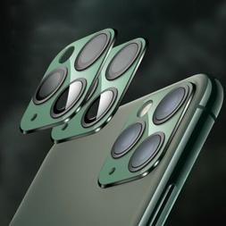 Aluminum Plate Tempered Glass Rear Camera Lens Protector for