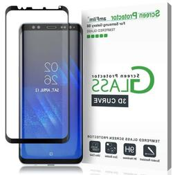 amFilm - Galaxy S8 Screen Protector Glass 3D Curved Dot Matr