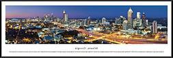 Blakeway Worldwide Panoramas Atlanta, Georgia at Twilight -