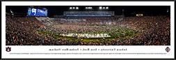 Auburn Tigers Football  - Standard Framed Print by Blakeway