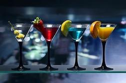 "Bar Glass Shelves - Rectangle Tempered Floating Glass 3/8"" T"