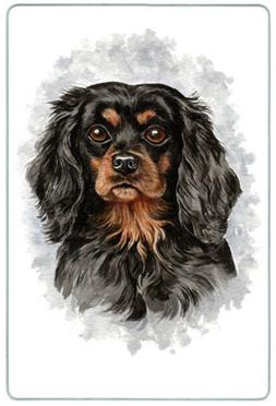 Canine Designs Cavalier King Charles Spaniel Tempered Glass