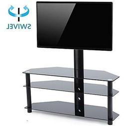 TAVR TV Stand with Mount 3-in-1 Flat Panel Entertainment Sta