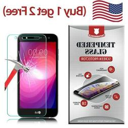 Clear HD Tempered Glass Film Screen Protector For LG X Charg