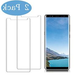 LuettBiden Compatible  Samsung Galaxy Note 8 Screen Protecto