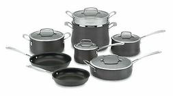 Cuisinart - Contour 13-piece Cookware Set - Stainless