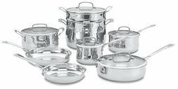 Cuisinart® Contour™ 13-pc. Stainless Steel Cookwar