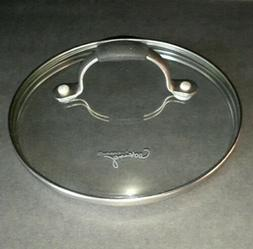 """Cooking with Calphalon 6 5/8"""" ID 7"""" OD Round Tempered Glas"""