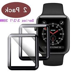 EcoPestuGo Compatible  Apple Watch 38mm Tempered Glass Scree