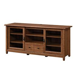 Sauder 418978 Edge Water Auburn Cherry Entertainment Credenz