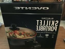 OVENTE ELECTRIC PORTABLE SKILLET - BRAND NEW - TEMPERED GLAS