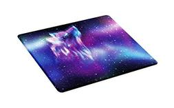 Ambesonne Fantasy Cutting Board, Psychedelic Northern Starry
