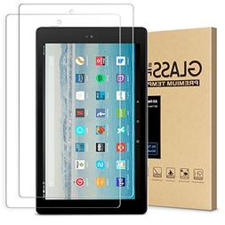 All-New Fire HD 10 Screen Protector,Tempered Glass Screen Pr