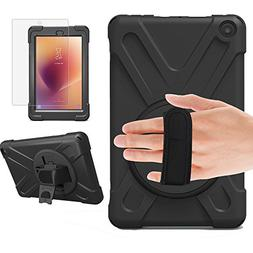 Gzerma Fire HD 8 Case with Screen Protector 2017 2018 with S