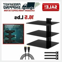 Floating Wall Mount TV Stand Shelves Media Console Entertain