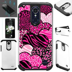 FusionGuard For LG Phone Case+TEMPERED GLASS Hybrid Cover ZE