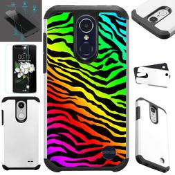 FusionGuard For LG Phone Case+TEMPERED GLASS Hybrid Cover RA