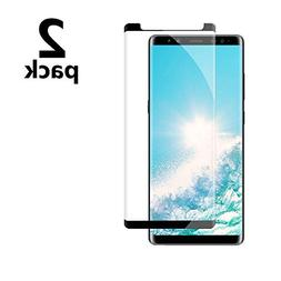 Galaxy Note 8 Black Screen Protector,Case Friendly/Scratch R