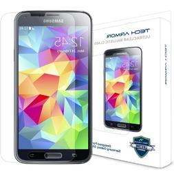 Samsung Galaxy S5 Glass Screen Protector, Tech Armor Premium