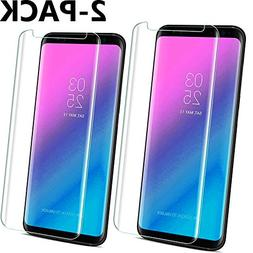 Galaxy S8 Clear Screen Protector, Tempered Glass Screen Pro