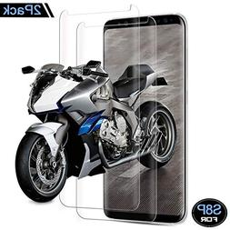 Galaxy S8 Plus Screen Protector, Zebre Tempered Glass 3D Scr