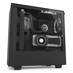 NZXT H500i - Compact ATX Mid-Tower PC Gaming Case - RGB Ligh