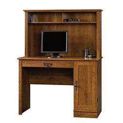 Sauder 404961 Harvest Mill Computer Desk with Hutch, L: 43.4
