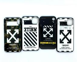 Hypebeast Sup Off White Arrows & Lines Tempered Glass Back C