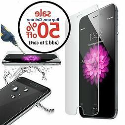 iPhone 5 6 7 8 Plus X XS XR XS Max Premium Tempered Glass Sc