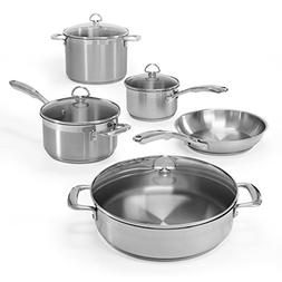 Chantal® Induction 21 Cookware 9-pc. Cookware Set