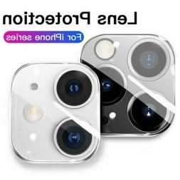 For iPhone 12 11 Pro Max XR XS Tempered Glass Camera Lens Co