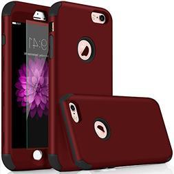 iPhone 6s Case,Qusum 3-in-1 Shockproof Full Body Coverage Pr