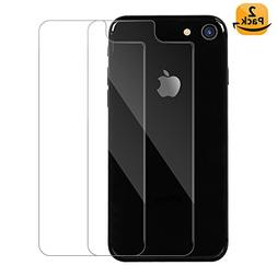 iPhone 8 4.7inch Back Tempered Glass Screen Protector, Maxda