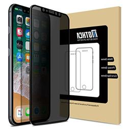 new concept ae2b4 31b1a Mothca iPhone X Screen Protector Privacy...