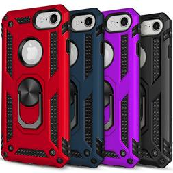 iPhone SE 2020 Case, Ring Kickstand Shockproof Cover + Tempe