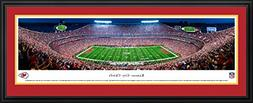 Kansas City Chiefs Night Game - Double Mat, Deluxe Framed NF