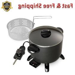 Kitchen Kettle Multi Cooker Steamer Heavy Cast Aluminum Base