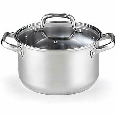02609 stockpots lid 5 quart stainless steel