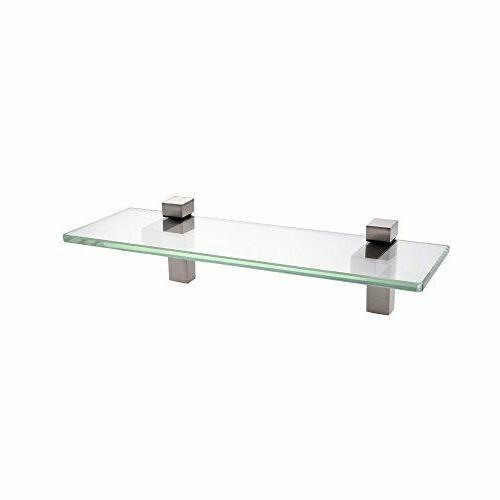 14 inch bathroom tempered glass shelf 8mm