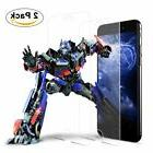 2 PACK Premium Real Screen Protector Tempered Glass Film For