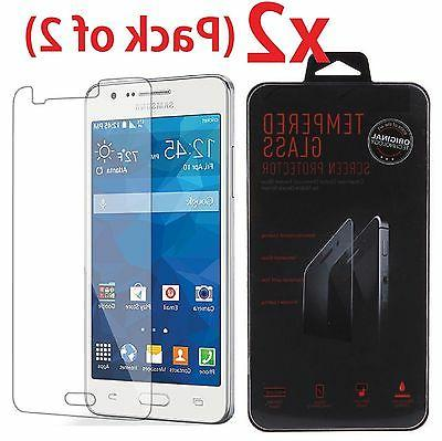 2-PACK Tempered Glass Screen Protector Film for Samsung Gala