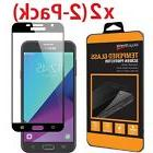 2-Pack Full Cover Tempered Glass Screen Protector For Galaxy