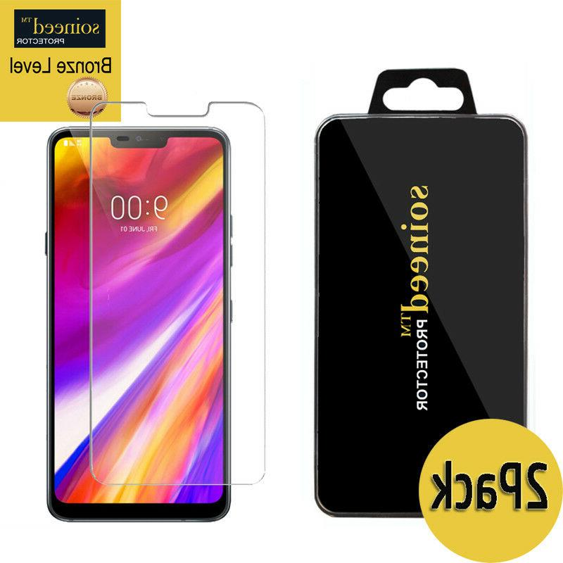 SOINEED Tempered Glass Screen Saver Protector For LG G7 Thi