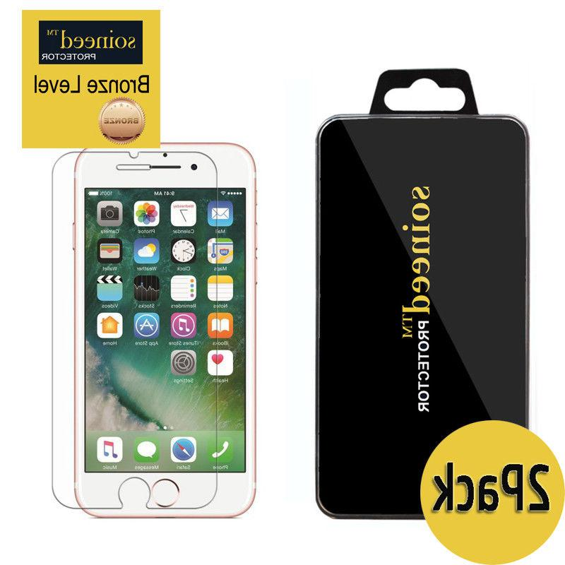SOINEED Apple iPhone 8 or iPhone 8 Plus Tempered Glass Scre