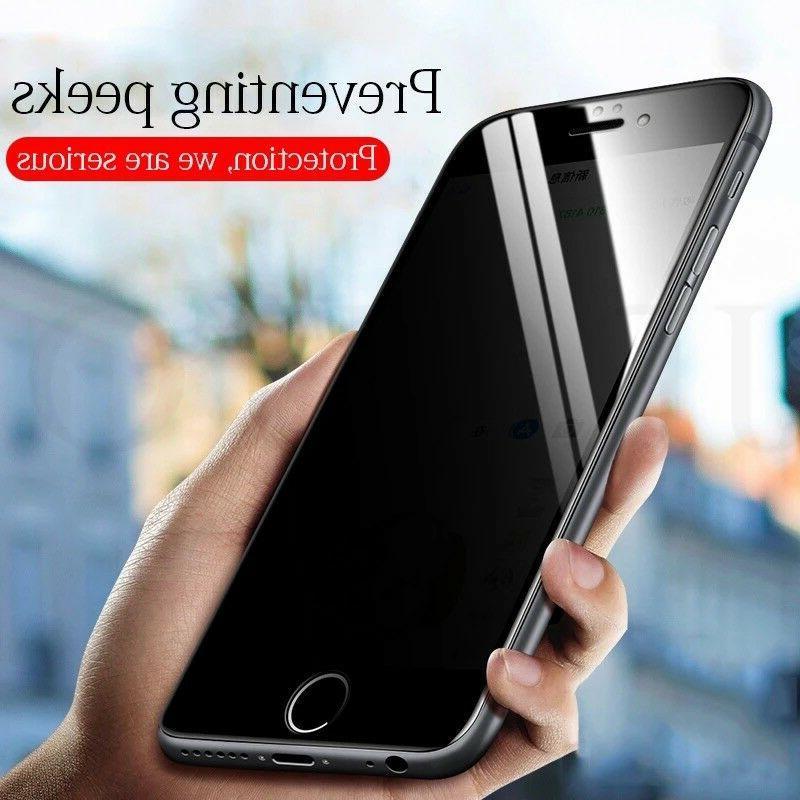 iPhone XS XR Max Anti-Spy Glass Protector