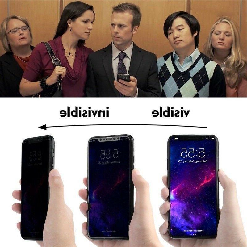 iPhone XR XS Anti-Spy Glass Protector