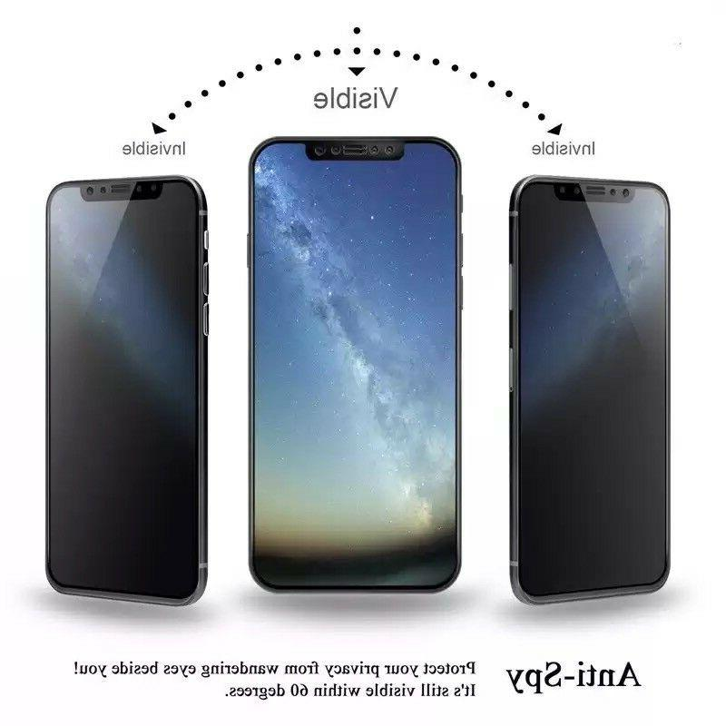 iPhone XR Max Anti-Spy Tempered Screen Protector