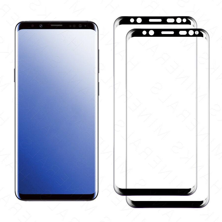 2-Pack Tempered Glass Samsung Galaxy S9 Note 8 9