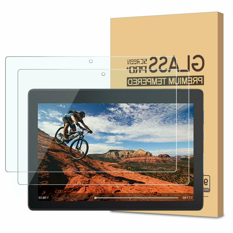 2 packs glass screen protector for lenovo